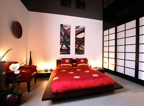 Chambre japonais - du japon et des fleurs