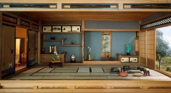 plan maison japonaise moderne du japon et des fleurs. Black Bedroom Furniture Sets. Home Design Ideas