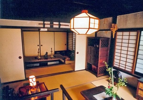 int rieur japonais traditionnel du japon et des fleurs. Black Bedroom Furniture Sets. Home Design Ideas