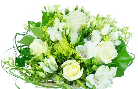 Bouquet de fleurs blanches - du japon et des fleurs